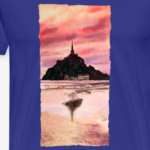 Mont St Michel - Men's Premium T-Shirt