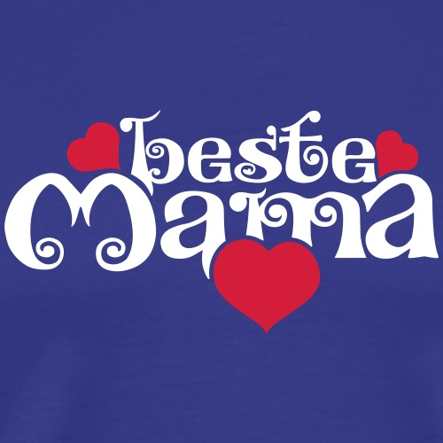 Beste Mama - Männer Premium T-Shirt