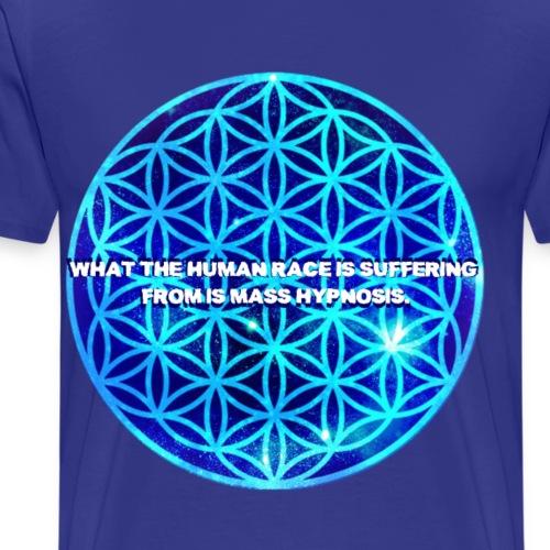 Mass Hypnosis Sacred Geometry - Men's Premium T-Shirt