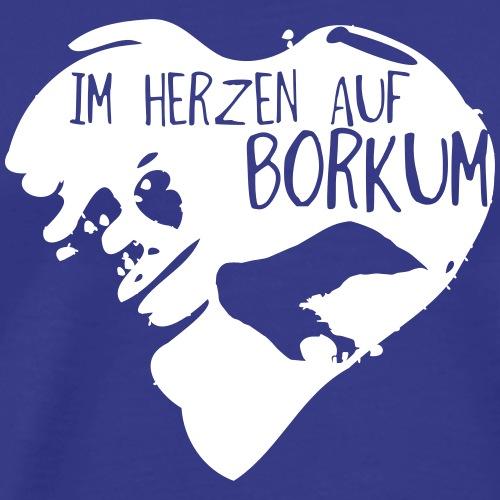 Im Herzen auf Borkum Shop - Männer Premium T-Shirt