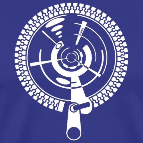 zipper - Männer Premium T-Shirt