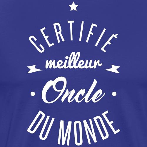 meilleur oncle - T-shirt Premium Homme