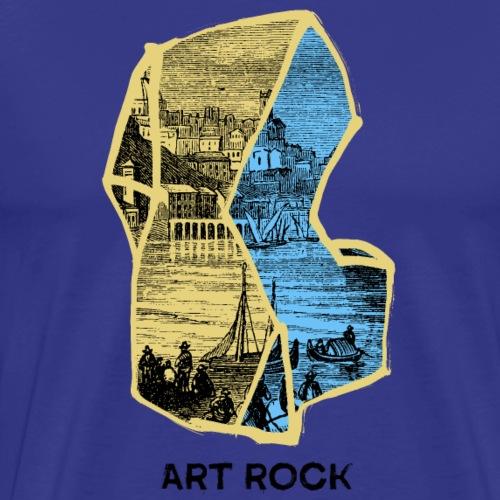 ART ROCK No 4 colour - Mannen Premium T-shirt