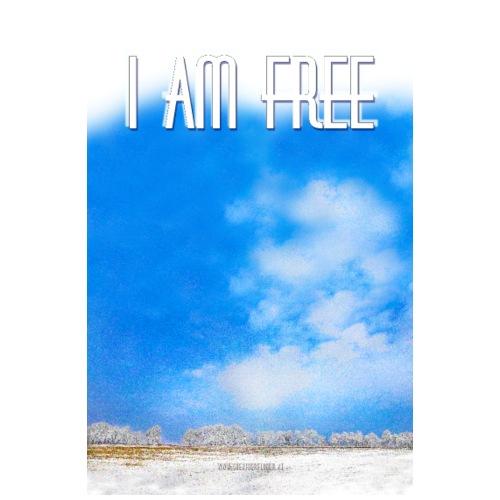 I am free - Männer Premium T-Shirt