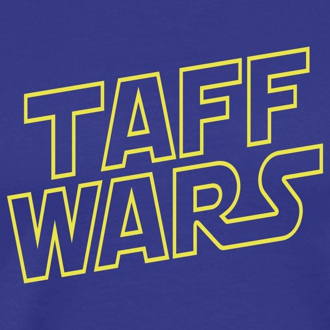taffwars logo angle