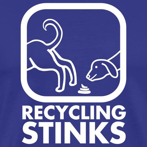 Recycling stinks - Premium-T-shirt herr