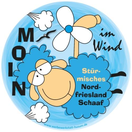 Stürmisches Nordfrieslandschaaf - Männer Premium T-Shirt