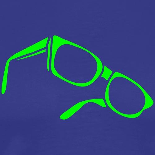 sunglasses dark glasses eighties porn cool sexy - Männer Premium T-Shirt