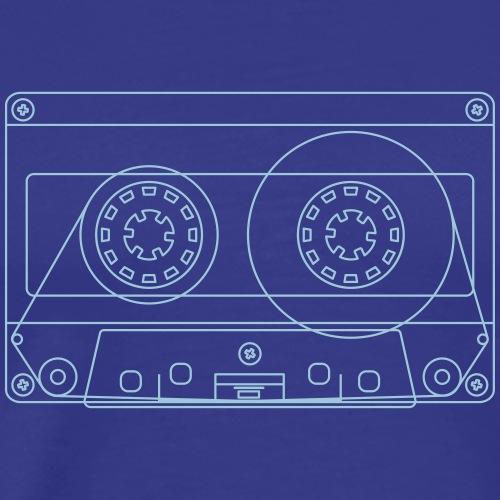 Cassette - Premium-T-shirt herr