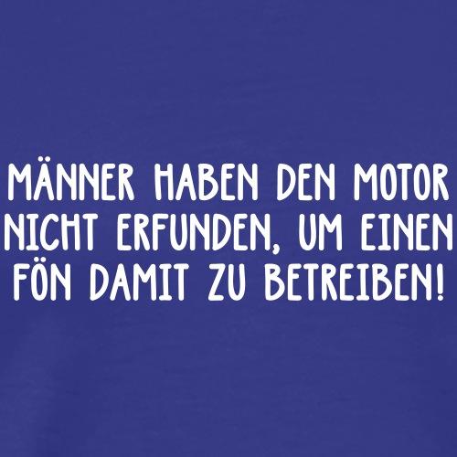 Männer Motor Autobahn Fön Rennen Evolution - Men's Premium T-Shirt