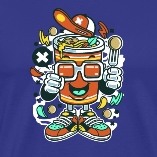 Nudelbecher - Männer Premium T-Shirt