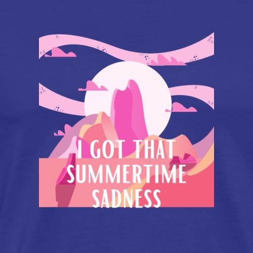 J'ai cette tristesse estivale - T-shirt Premium Homme