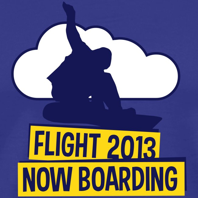 Flight 2013 now boarding