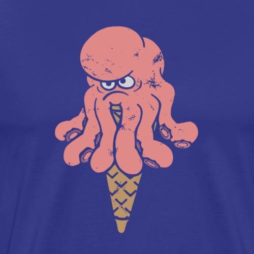 Octo pink - Premium-T-shirt herr