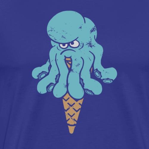 Octo blue - Premium-T-shirt herr