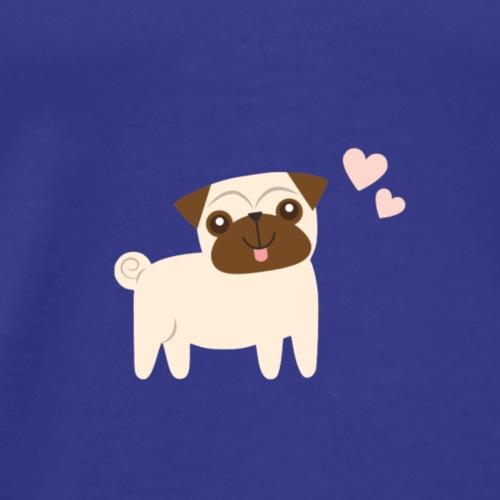 LOVE DOG - Maglietta Premium da uomo