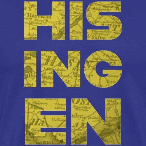 Hisingens Karta - Premium-T-shirt herr
