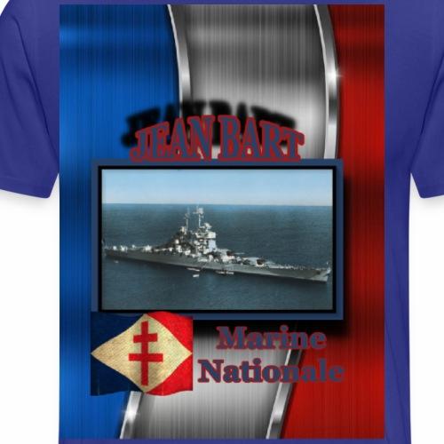 Schlachtschiff Jean Bart - Männer Premium T-Shirt