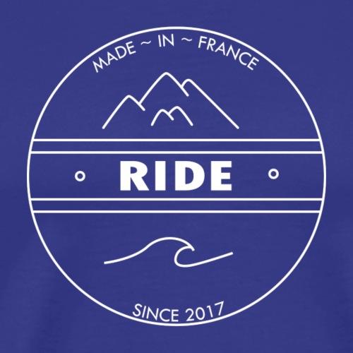 logo officiel marque ride - T-shirt Premium Homme