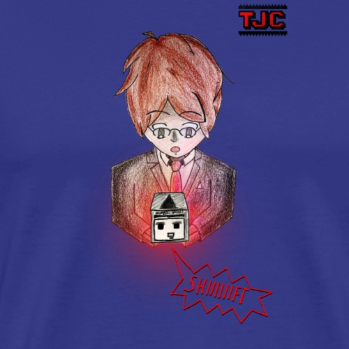 TheJoCraft Special: Shiiiift-Petze - Männer Premium T-Shirt