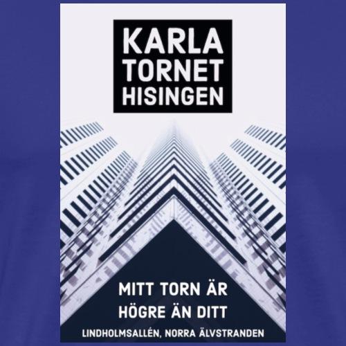 Karlatornet - Premium-T-shirt herr