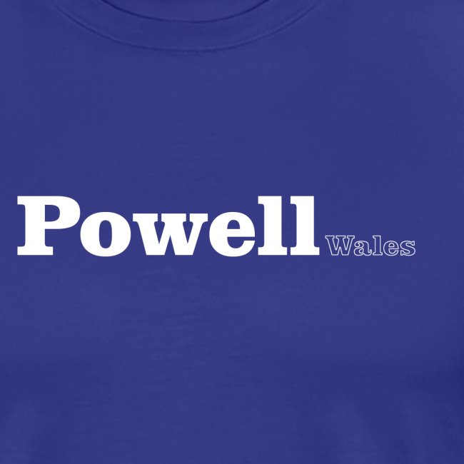powell wales white