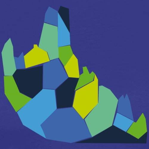Logo mosaico - Camiseta premium hombre