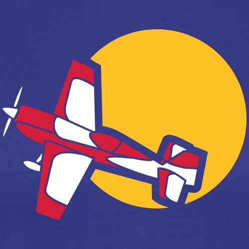 Flugzeug Jet Airplane Sky Himmel Sun Sonne Sport - Männer Premium T-Shirt