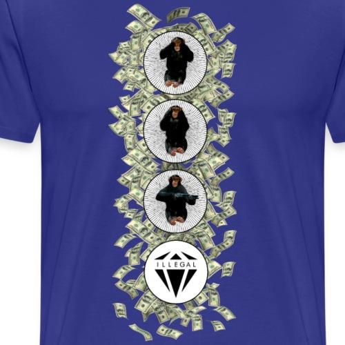 Monkey Shot - Maglietta Premium da uomo