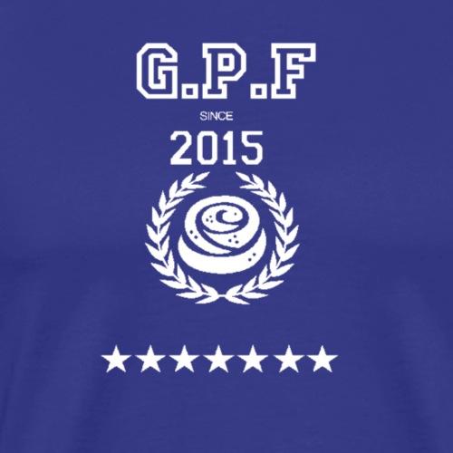 GPF 2017 Svart - Premium-T-shirt herr