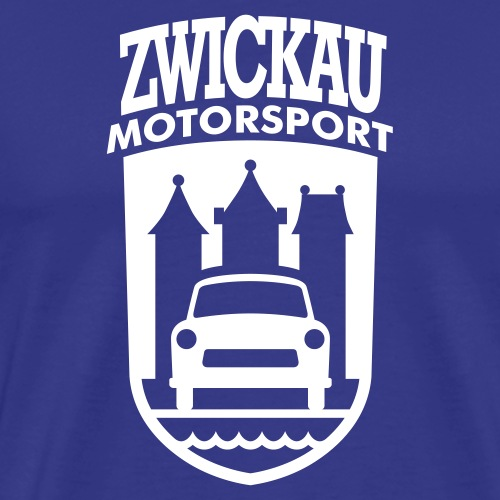 Trabant Motorsport Zwickau Coat of Arms - Men's Premium T-Shirt