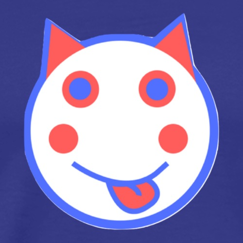 Red White And Blue - Alf Da Cat - Men's Premium T-Shirt