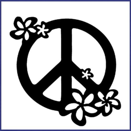 simbolo della pace hipster - Maglietta Premium da uomo