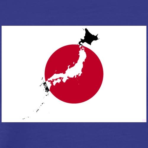 WonderLang - Japan - Nihon Map - T-shirt Premium Homme