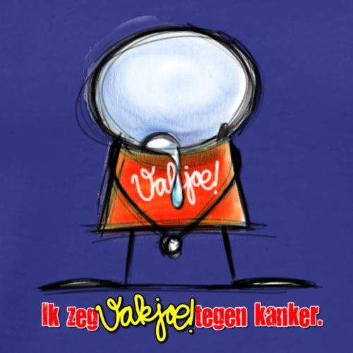 Vakjoe!Poppetje huilt - Mannen Premium T-shirt