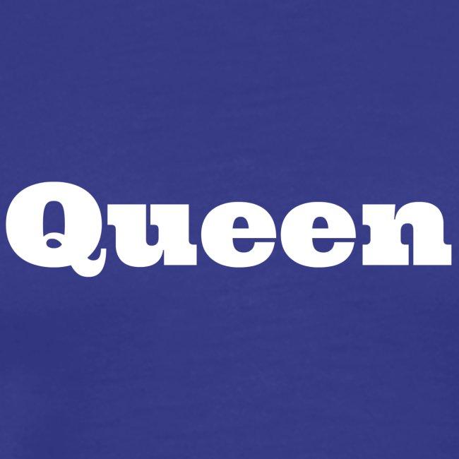 Snapback queen zwart/blauw