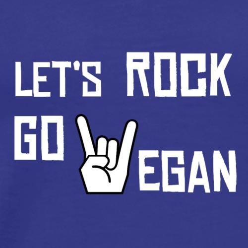vegan rocks - Men's Premium T-Shirt