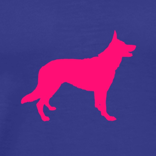 German shepherd - Premium T-skjorte for menn
