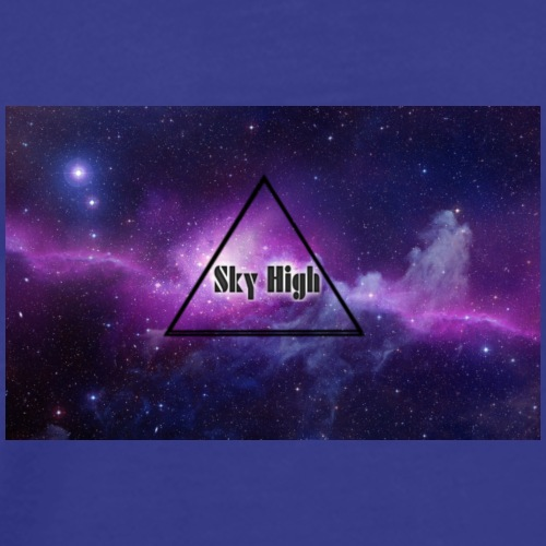 Sky High Galaxy Shirt - Mannen Premium T-shirt