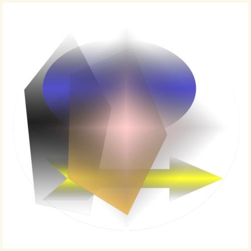 freccia fantasia giallo - Maglietta Premium da uomo