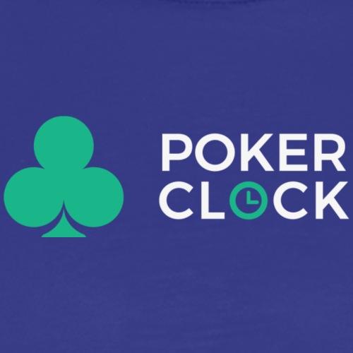 Poker Clock Logo - Männer Premium T-Shirt