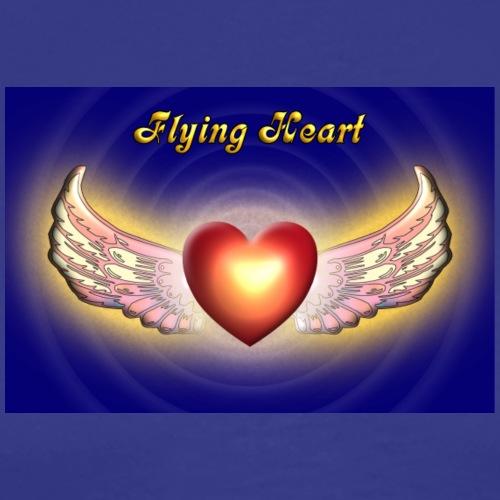 Flying Heart - Männer Premium T-Shirt