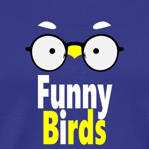Funny Birds - Miesten premium t-paita
