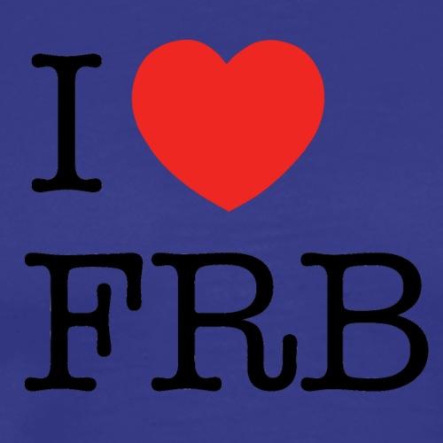 I Love FRB - Streetwear - Herre premium T-shirt