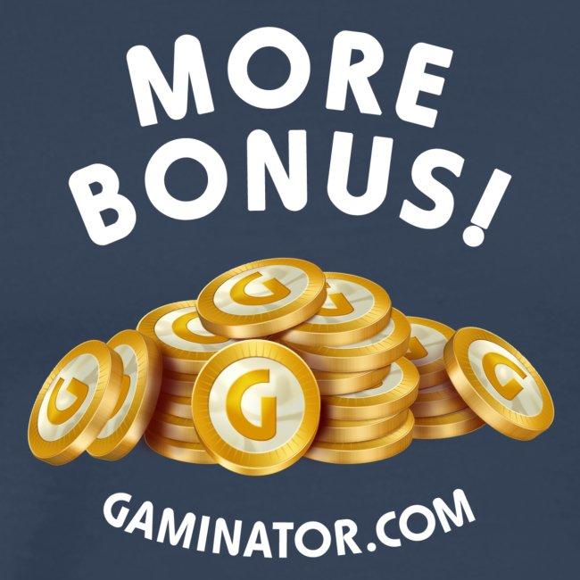 More bonus