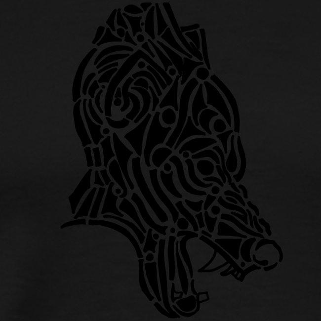 Wolf - loup tribal