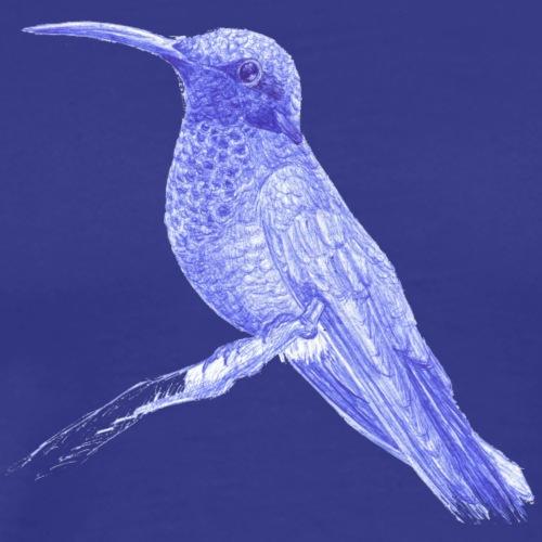 Colibri au stylo-bille - T-shirt Premium Homme