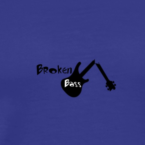 Broken Bass Logo 2 - Männer Premium T-Shirt