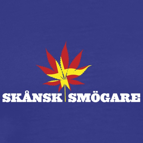 Scanian Smoker - Premium-T-shirt herr