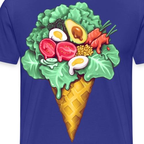 Ice Cream Salad - Men's Premium T-Shirt